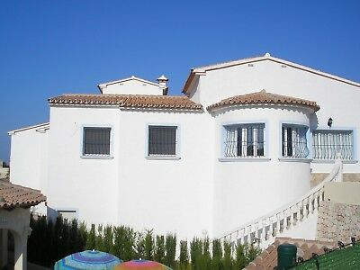 Holiday Villa in the Benitachell costa blanca SPAIN