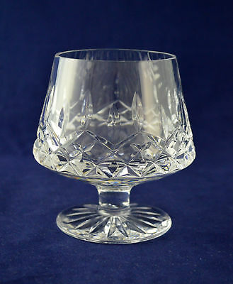 """Tyrone Crystal """"ROSSES"""" Brandy Glass – 9.9cms (3-7/8″) Tall – 1st"""