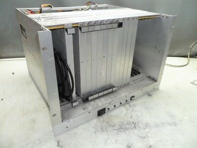 Mupac Vme Model 5129Kll20Bc-100- 20 Position Rack & Backplane Powers On