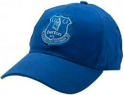 Everton Fc Embroidered New Crest Adult One Size Baseball Cap Official Product