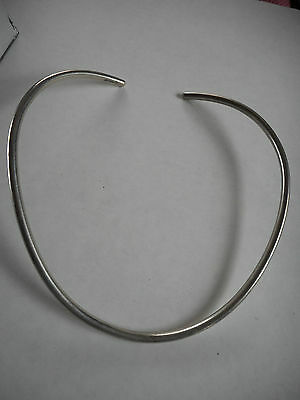 Vintage Sterling silver collar necklace, 25 g