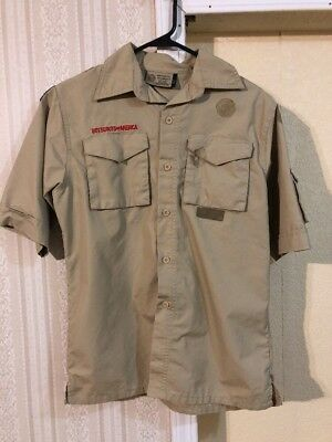 Boy Scouts Of America Shirt Size Youth Large.         F