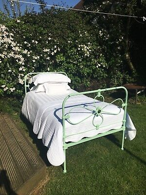 Antique Bed Early Victorian Three Quarter