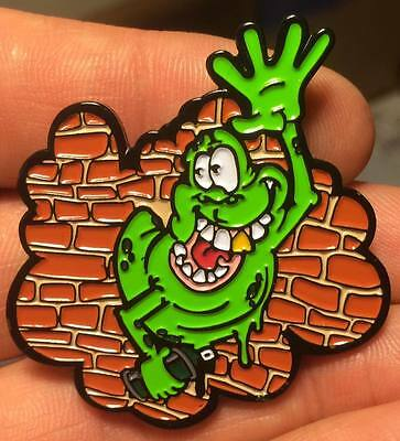 Slimer Ghost busters Ghostbusters hat pin the grateful dead dab bassnectar rig