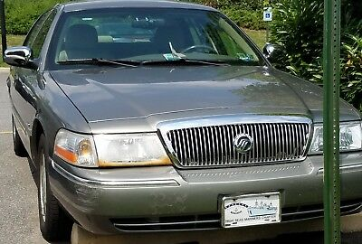 2003 Mercury Grand Marquis Limited Edition Low Mileage, Have Repair History, Second Owner Purchased at 11,000 miles