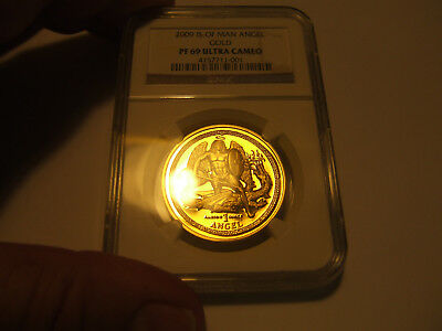 Top Pop Only One Graded At Ngc !!! 2009 Isle Of Man 25 Yr Annv High Relief 1 Oz