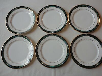 LENOX KELLY Debut Collection set of 6 BREAD & BUTTER PLATES