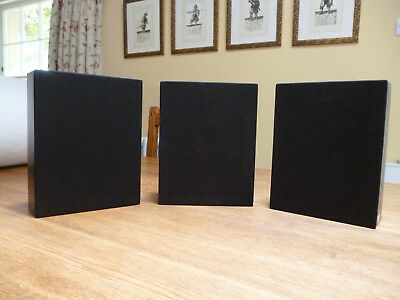 3 x Artcoustic Diabolo Mini Monitor speakers
