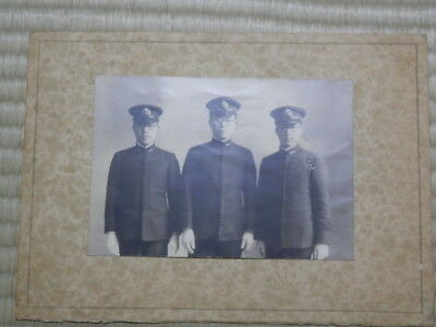 WW2 Japanese Naval officer's assembly picture.Very Good