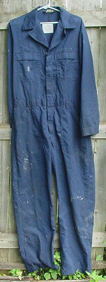 Us Navy Work Coverall Lsd-37 Usn Size 40 L