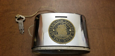VTG Greenwhich Savings Chicago USA Broadway / 36th St. N.Y 1904-1913 Coin Bank
