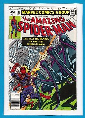 "Amazing Spider-Man #191_April 1979_Very Fine_""menace Of The Last Spider-Slayer""!"