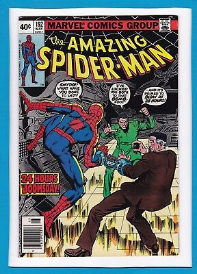 Amazing Spider-Man #192_May 1979_Fine+_Human Fly_Bronze Age Marvel!