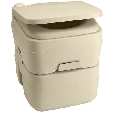 Dometic 965 Portable Toilet 5.0 Gallon Parchment 311096502