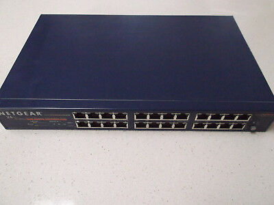 Netgear DS524 24 Port Switch Network Networking