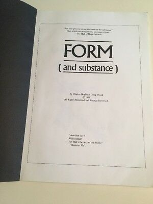 JOY DIVISION/Form (and Substance) Book/Clinton Heylin & Craig Wood/1988/2nd Ed.