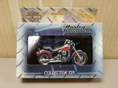 Harley~Davidson Limited Edition playing cards/tin