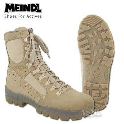 DESERT  - Meindl Boots - NEW IN BOX - 10  British ARMY Issue - NEW - Desert