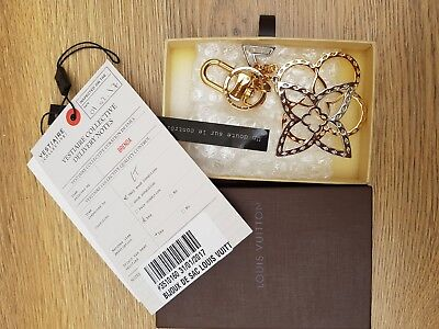 Louis Vuitton Blossom Bag Charm with Box New condition