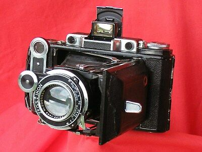 Super Ikonta 531/2, f/3.5 Tessar, all working, good condition, with 16-on mask
