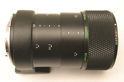 Olympus 80mm and 135mm Auto Macro extension tube. Olympus OM SLR fit