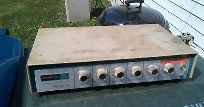 Vintage amplifier fanon tri 35 amp for parts not working vintage amp