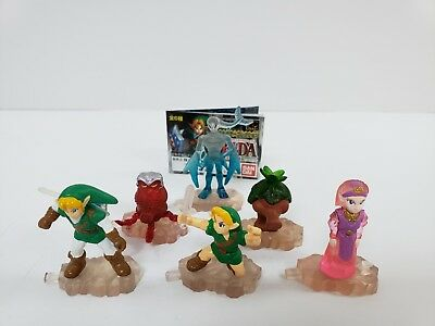 Rare Legend of Zelda Series Figure Collection of 6 - Tomy - Bandi 1999