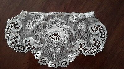 ANTIQUE LACE CROCHET ITEMS 19TH CENTURY LADY's MAID HEAD DRESS-DOWNTON ABBEY