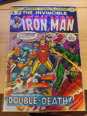 "Iron Man Vol. 1 - #58 | ""Double-death!"" 