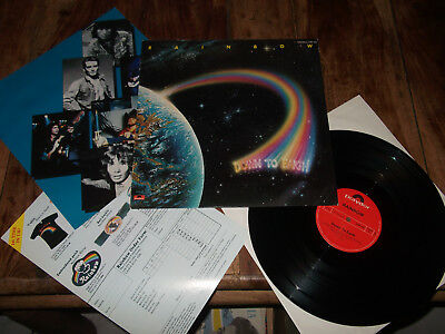"""Lp : Rainbow (Ritchie Blackmore) """"down To Earth"""" 1979 Hardrock / + Inserts / Top"""
