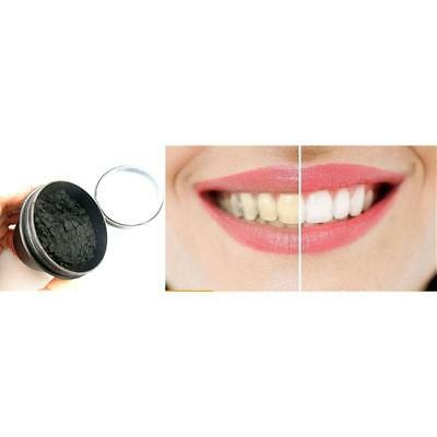 Activated Charcoal Whitening Tooth Powder Herbal Clean Toothpaste Teeth Care LD