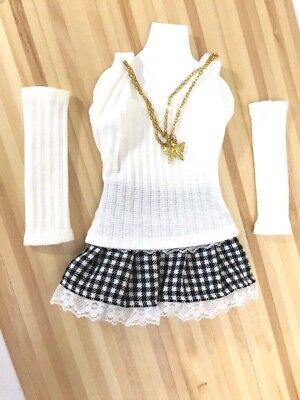 BJD Dollfie Dream Smart Doll Dress Set Shirt Clothes Ball Jointed Doll Outfit