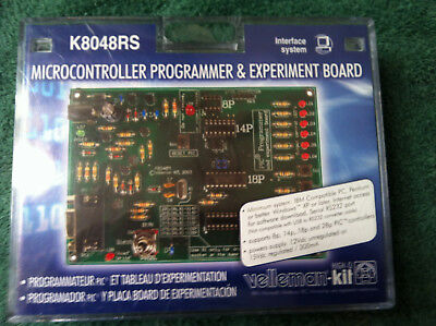 Velleman K8048RS Microcontroller Programmer and Experiment Board