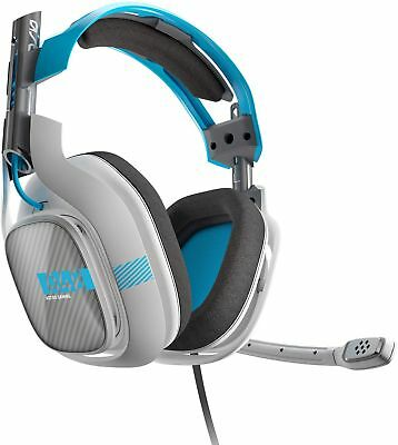 ASTRO Gaming A40 Headset for XBOX ONE (Light Grey/Blue)  ** HEADSET ONLY **