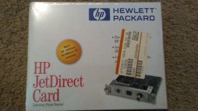HP JetDirect  Card Internal Print Server j2555b New in Sealed Box