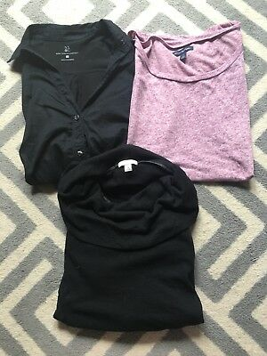 Lot Of 3 Womens Shirts American Eagle Gap Ny And Co Small S