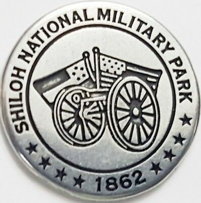 Mississippi Monument - Shilo National Military Park token Gen. Wm. Hardee's Corp