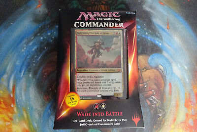 MTG Commander 2015 Deck - Wade into Battle Brand New and Sealed - EDH