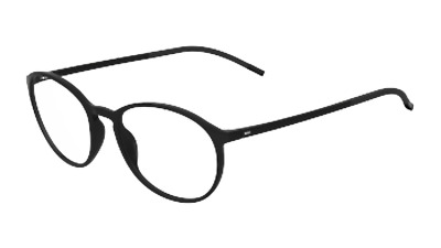 529ef4e641c SILHOUETTE SPX ILLUSION Full Rim 1560 black 6050 Eyeglasses ...