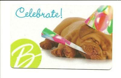 Boscov's Tired Out Puppy Gift Card No $ Value Collectible