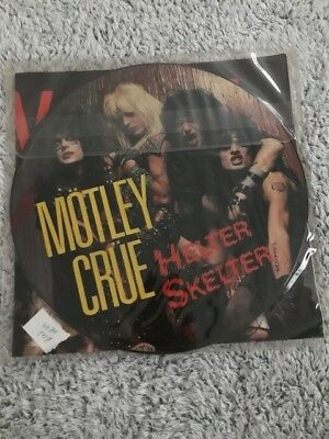 Motley Crue collectors album LP picture disc Helter Skelter WITH POSTER