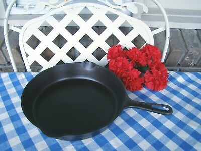Griswold Cast Iron #8 Small Logo Late Handle Skillet – Cleaned and Seasoned