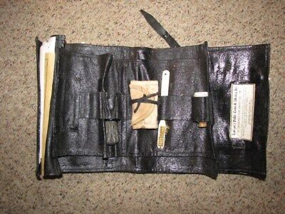 Repro Us Civil War Soldier's Personal Toilet And Writing Kit