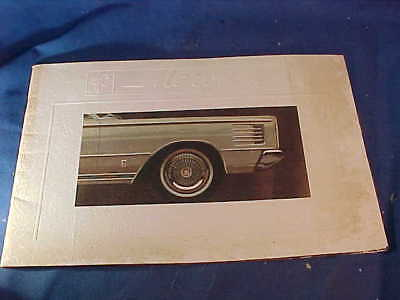 Orig 1965 MERCURY Dealers ADVERTISING BOOKLET