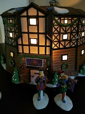 "Department 56 Dickens' Village ""The Old Globe Theatre"" # 58501 New Spectacular!!"