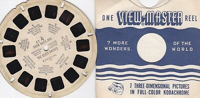 Snow White and the Seven Dwarfs View-Master Sawyers Reel FT4 w/ storybook ~ 1946