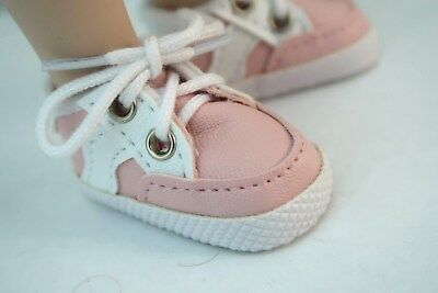 """Unisex 65mm PINK Custom Sporty Shoes for 16/"""" Sasha Doll Shoes"""