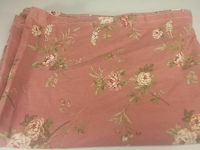 "Richloom Original Screen Print 152""x52"" Floral Design Drapery Upholstery Fabric"