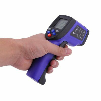 -50 to 900℃ LCD Digital Temperature Thermometer Gun IR Laser Temperaturmesser DE