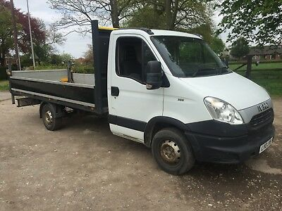 2013 Iveco Daily 35S11 LWB. 3.5T Dropside pickup flatbed tail lift. NO VAT